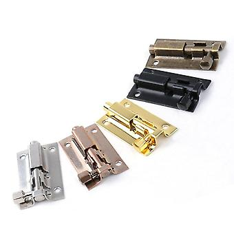 Stainless Steel Door Bolts Latch Solid Sliding Staple Gate Safety Lock