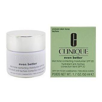 Even Better Skin Tone Correcting Moisturizer SPF 20 (Very Dry to Dry Combination) 50ml or 1.7oz