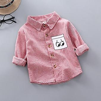 Stripe Shirt Clothes Baby Spring Thin Toddler Infant Long Sleeve Tees Tops Kids
