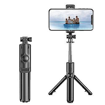 Bluetooth S03 Selfie tikku kädessä pidettävä taitettava kolmijalka