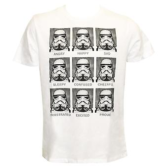 Originele Stormtrooper T-shirt Emoties