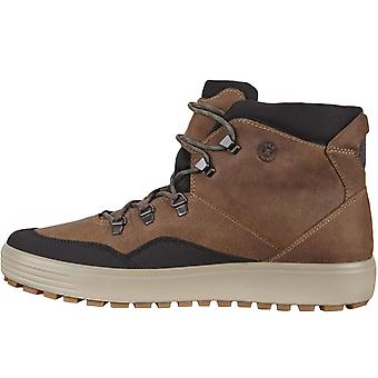 Ecco Mens Soft 7 Tred GORE-TEX Walking Hiking Trail Boots Shoes - Brown