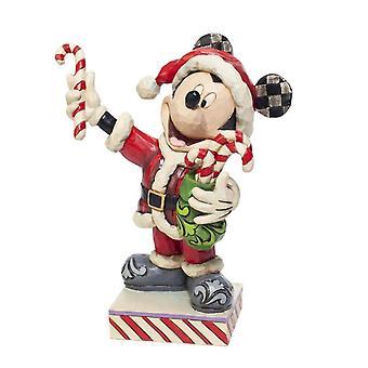 Disney Traditioner Musse Pigg Pepparmint Överraskning Jul Figurine
