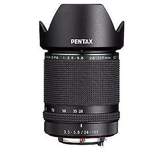Pentax d fa 28-105mm f3.5-5.6ed dc wr hd lentille (noir)