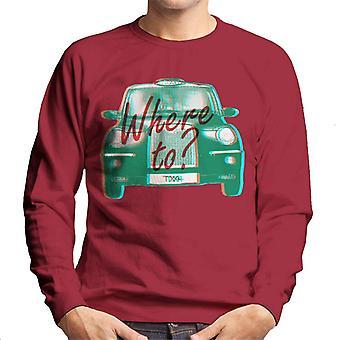 London Taxi Company TX4 Where To Men's Sweatshirt