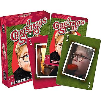A christmas story - photos playing cards