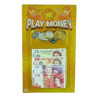 Henbrandt 2 pakkausta lapsia pelata rahaa englanti setelit ja kolikot bulkki pakkaus
