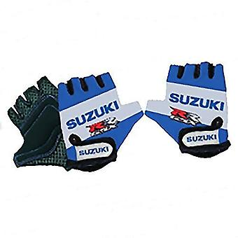 Kiddimoto Cycling Gloves Suzuki