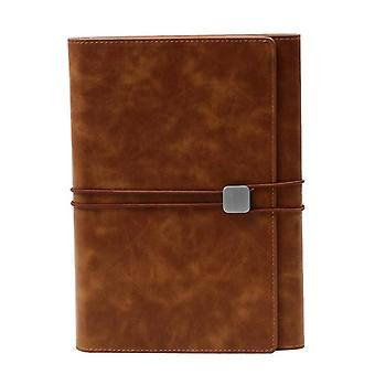 A5 Padfolio Clipboard Folder Card Holder Business Leather Organizer