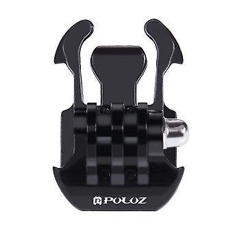 PULUZ Horizontal Surface Quick Release Buckle for GoPro HERO9 Black / HERO8 Black / HERO7 /6 /5 /5 Session /4 Session /4 /3+ /3 /2 /1, Xiaoyi and Othe
