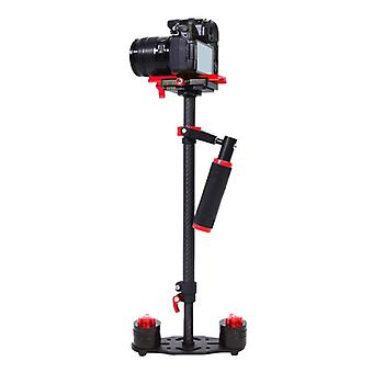 YELANGU S60T 38,5-61cm hiilikuitu käsitallennin DSLR & amp; DV Digitaalinen video &; Kamerat, kapasiteettialue 0,5-3 kg (punainen)