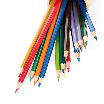 12 Colored Professional Oil Based Colored Pencils For Artist Including Skin Tone Color Pencils For Coloring Drawing And Sketching