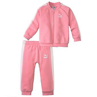 Puma Minicats T7 Baby Toddler tepláková súprava Track Top Joggers Pink 854455 74