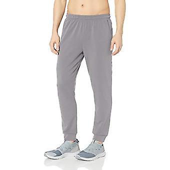 Essentials Men&s Soft-Tech Stretch Training Jogger Spodnie, Węgiel drzewny, Mały