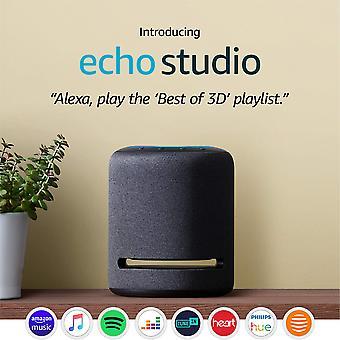 Παρουσιάζοντας | στούντιο echo έξυπνο ηχείο υψηλής πιστότητας με ήχο 3d και alexa