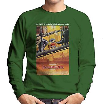 An American Tail Theatrical Poster Men's Sweatshirt