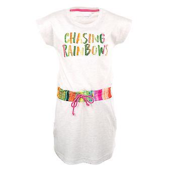 Stones and Bones Girls Dress Pearley Chasing Rainbows Ash