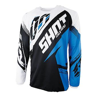 Shot Contact Fast Blue Adults MX Jersey
