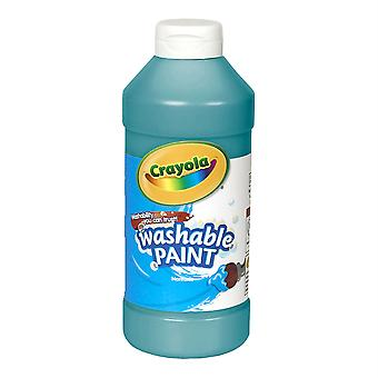 Crayola Washable Paint, Turquoise, 16 Oz.