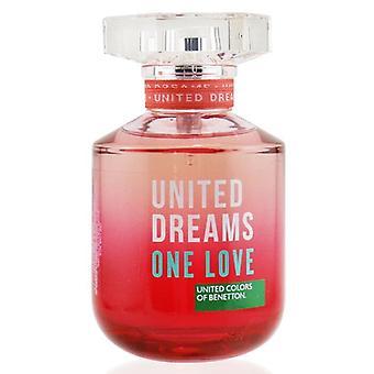 Benetton United Dreams One Love Eau De Toilette Spray 80ml/2.7oz