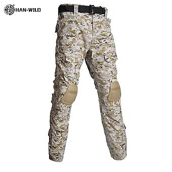 Children Military Combat Tactical Costumes Camouflage Short Long Army Suit