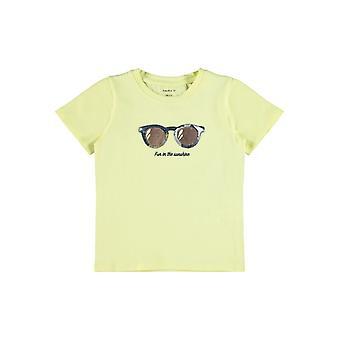 Name-it MeisjesTshirt Fisummer Yellow Pear