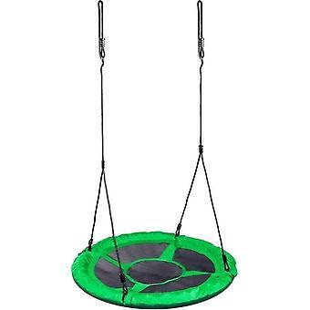 Nest swing green - 100cm diameter - with ropes
