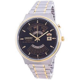 Orient Mehrjahreskalender Ewige Weltzeit automatische Feu00000bw Men's Uhr