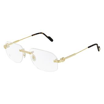 Cartier CT0284O 002 Gold Glasses
