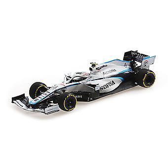 Williams Mercedes FW43 N. Latifi (Hungarian GP 2020) Diecast Model