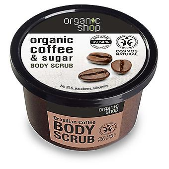 Organic Shop Exfoliante Corporal Café Brasileño 250 ml
