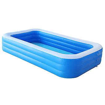 Inflatable Swimming Pool Durable PVC Family Lounge Pools for Adults Babies Outdoor