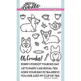 Heffy Doodle Oh Crumbs Clear Stamps