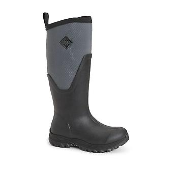 Muckboot Women's Arctic Sport Wellington Boots (black/grey)