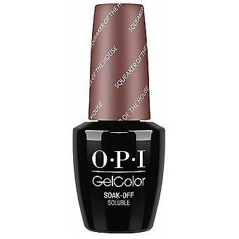 OPI GelColor Gel Polish Washington DC Collection - Grincement de la maison