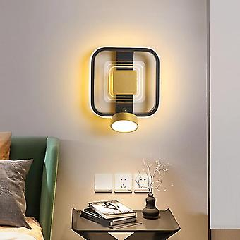 Round/Square LED Wall Lights Simple Lamp Tricolor
