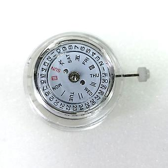 Durable Dual-calendar Movement Replacement Repair Parts For Watch