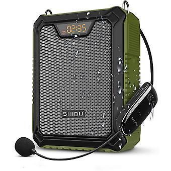 FengChun Sprachverstärker, 30W Sprachlautsprecher Tragbarer Bluetooth-Lautsprecher mit drahtlosem