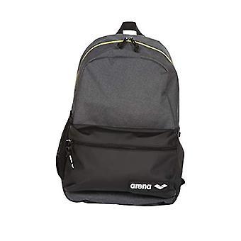 Arena Team Backpack 30L, Unisex Adult 30-Liter Sports School Backpack, Grey (Grey Melange), One Size