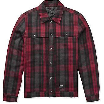 Etnies Nantan Wool Jacket in Red/Black