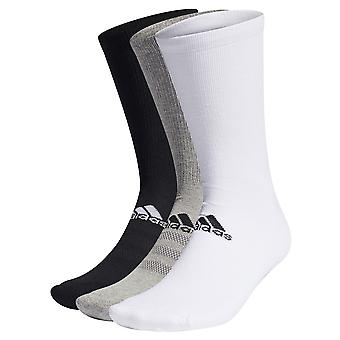 adidas Golf Mens 2021 3 Pack Crew Soft Mid-Foot Support Multipack Socks
