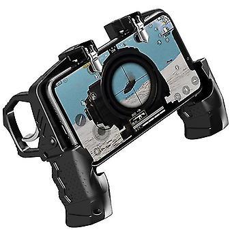 بندقية شكل لعبة تحكم تحكم جويستيك للهاتف المحمول العالمي متعدد الوظائف Gamepad WS7808