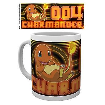 Pokemon Charmander glöd mugg