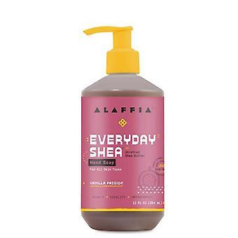 Alaffia Liquid Hand Soap Vanilla Passion, 12 Oz