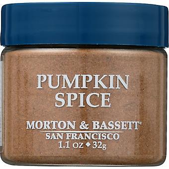 Morton & Bassett Seasoning Pumpkin Spice, Case of 3 X 1.1 Oz