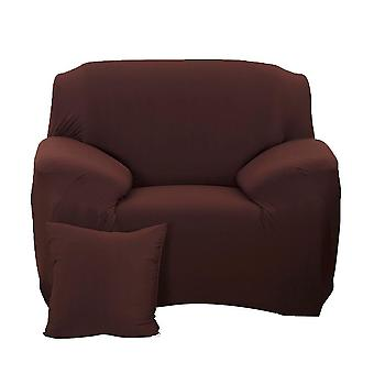 1 Seater Elastic Sofa Covers Slipcover Settee Stretch Couch Protector Claret