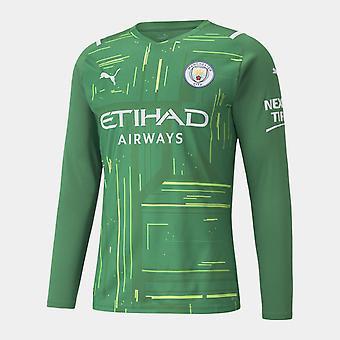 Puma Manchester City Hjemmemålmandsskjorte 2021 2022