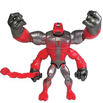 Ben 10 Action Figures Metallic Theme - Four Arms