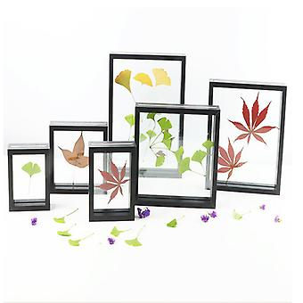 Mimigo Picture Frames With High Definition Glass,rustic Photo Frames For Wall Or Tabletop Display Black Color