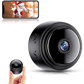 Mini Spy Kamera, Full HD 1080P WiFi Überwachung Wireless versteckte Spionagekameras mit Nachtsicht und